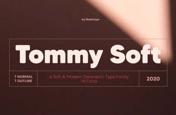 MADE Tommy Soft Font