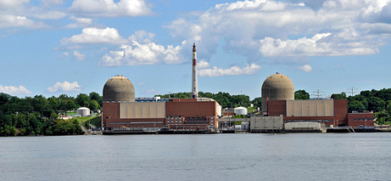 Indian Point nuclear power plant (photo)