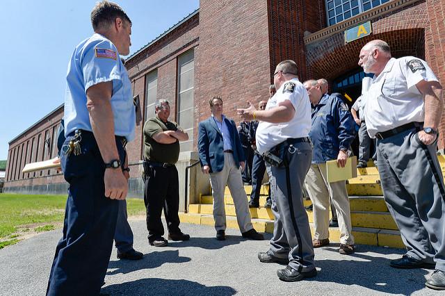 cuomo prison visit dannemora