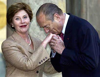 Handkissing Chirac