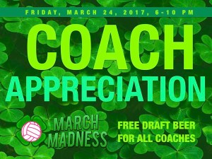 Coach Appreciation Day! @ Locker Room @ Gym Sportsbar | New York | New York | United States