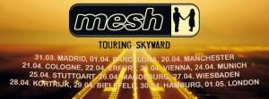 Mesh - Looking Skyward Tour 2017