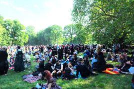 Viktorianisches Picknick auf dem Wave Gotik Treffen 2017 (c) Gothic Empire