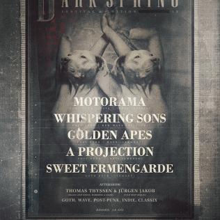 Line-Up vom 9. Dark Spring Festival im Bi Nuu Berlin