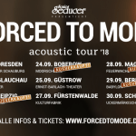Konzertbericht: Forced To Mode acoustic tour Berlin, Babylon 29.09.2018