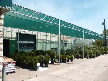 Commercial W Truss Shade House Gothic Arch Greenhouses