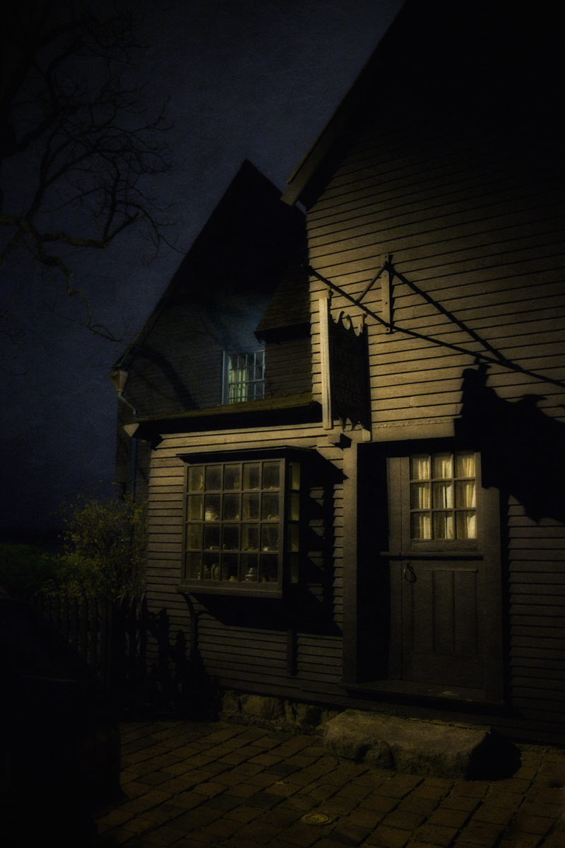 The House of the Seven Gables, Salem, Massachusetts.