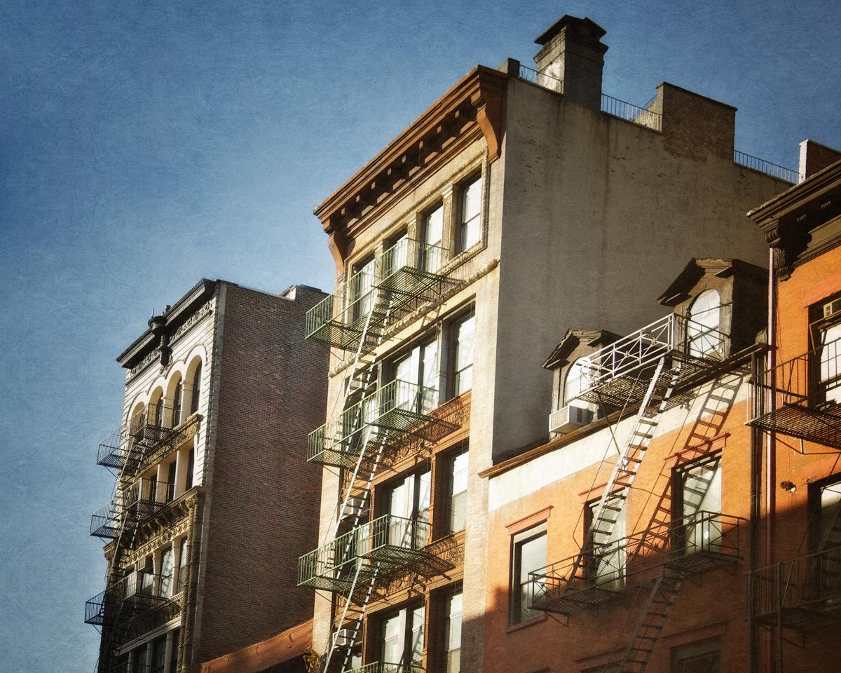 Part of the older New York City skyline