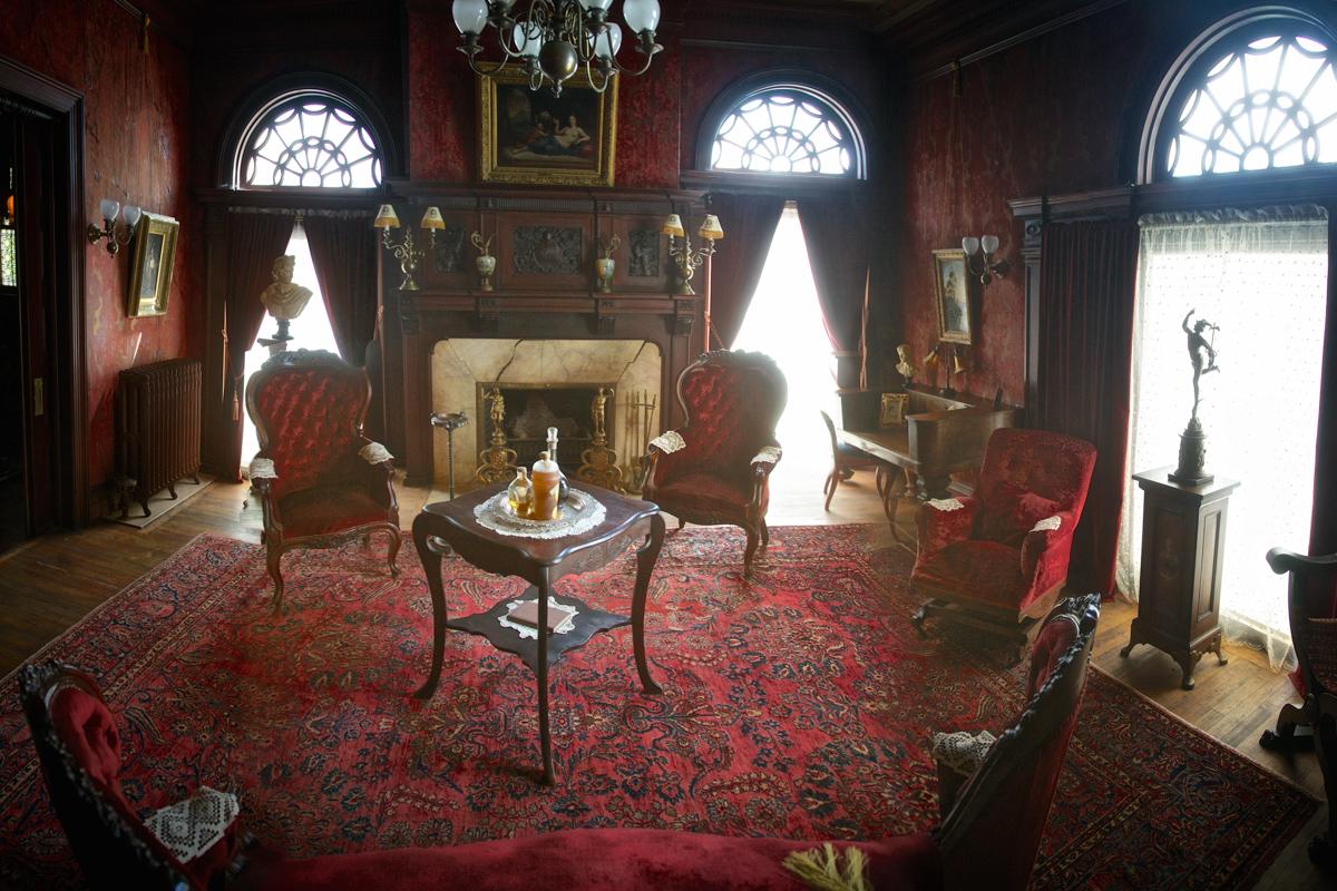 Mr. Cruikshank's Parlor, Rockcliffe Mansion
