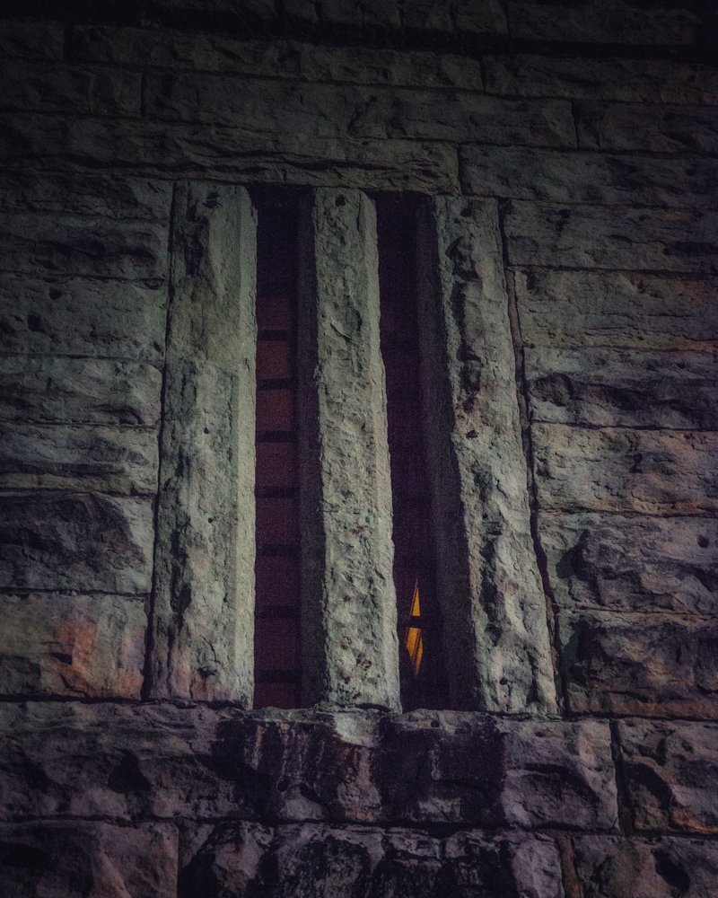 Window of the Jailer's Inn, Bardstown
