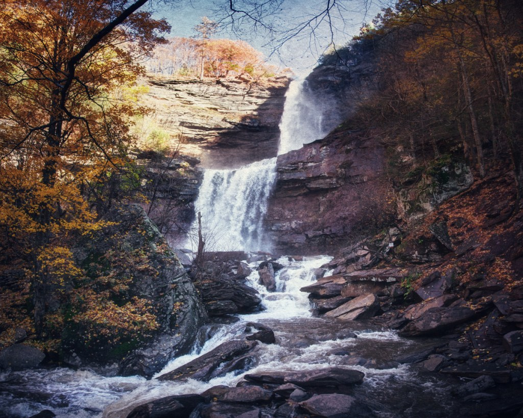 Kaaterskill Falls from Haunted Travels in the Hudson River Valley of Washington Irving