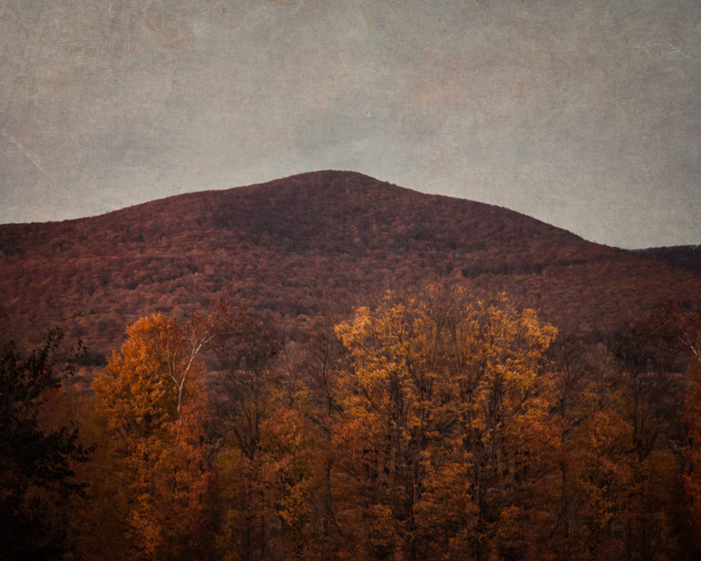Overlook Mountain near Woodstock, New York, in the Catskills, from Haunted Travels in the Hudson River Valley of Washington Irving