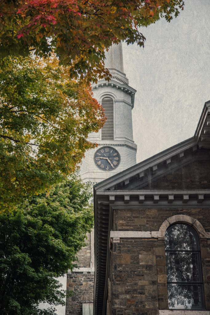 Old Dutch Church of Kingston from Haunted Travels in the Hudson River Valley of Washington Irving