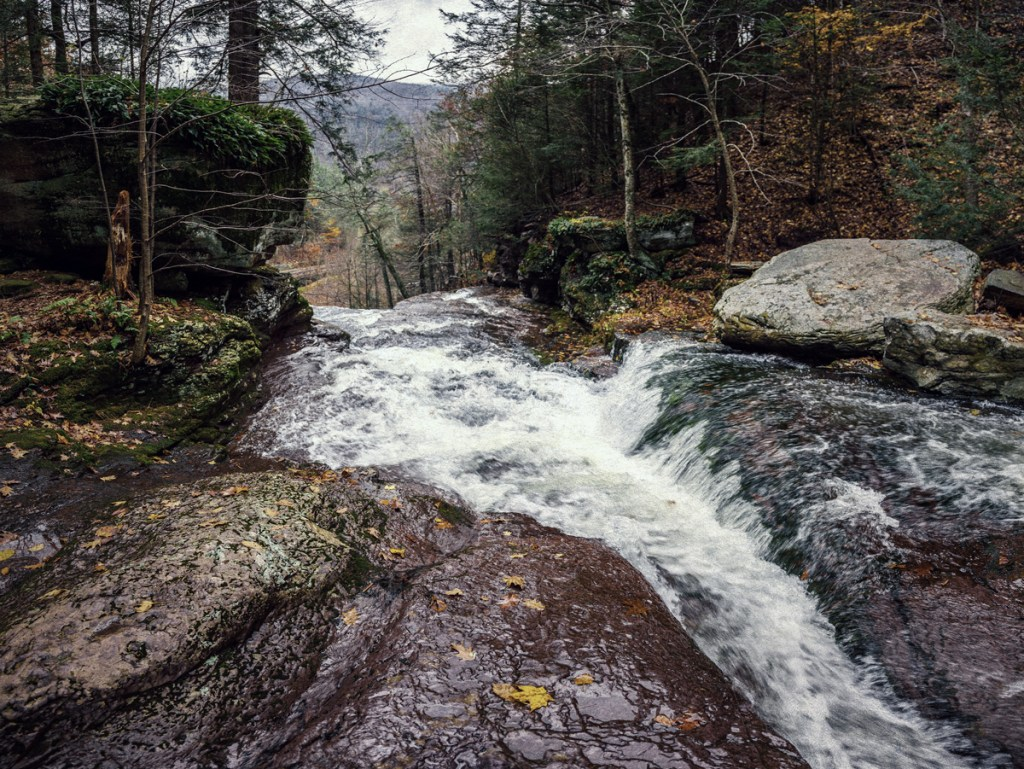 Cascade in the Catskills from Haunted Travels in the Hudson River Valley of Washington Irving