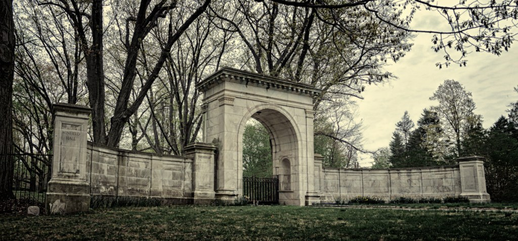 Gate at Winfield Hall
