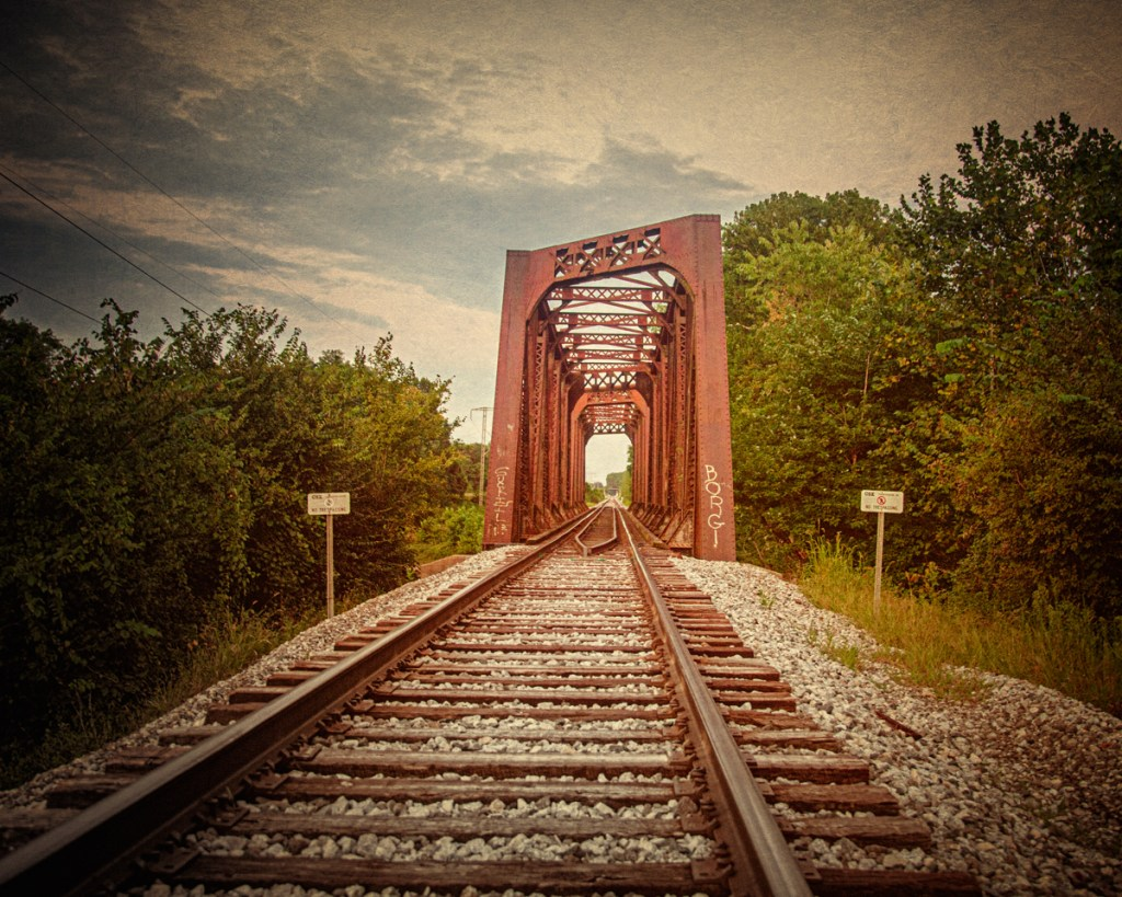 Railroad Bridge at Lawrenceville haunted by the White Lady