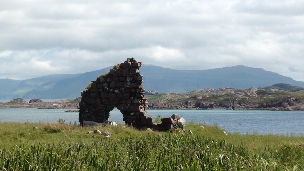 Looking across to the island of Mull from Iona.
