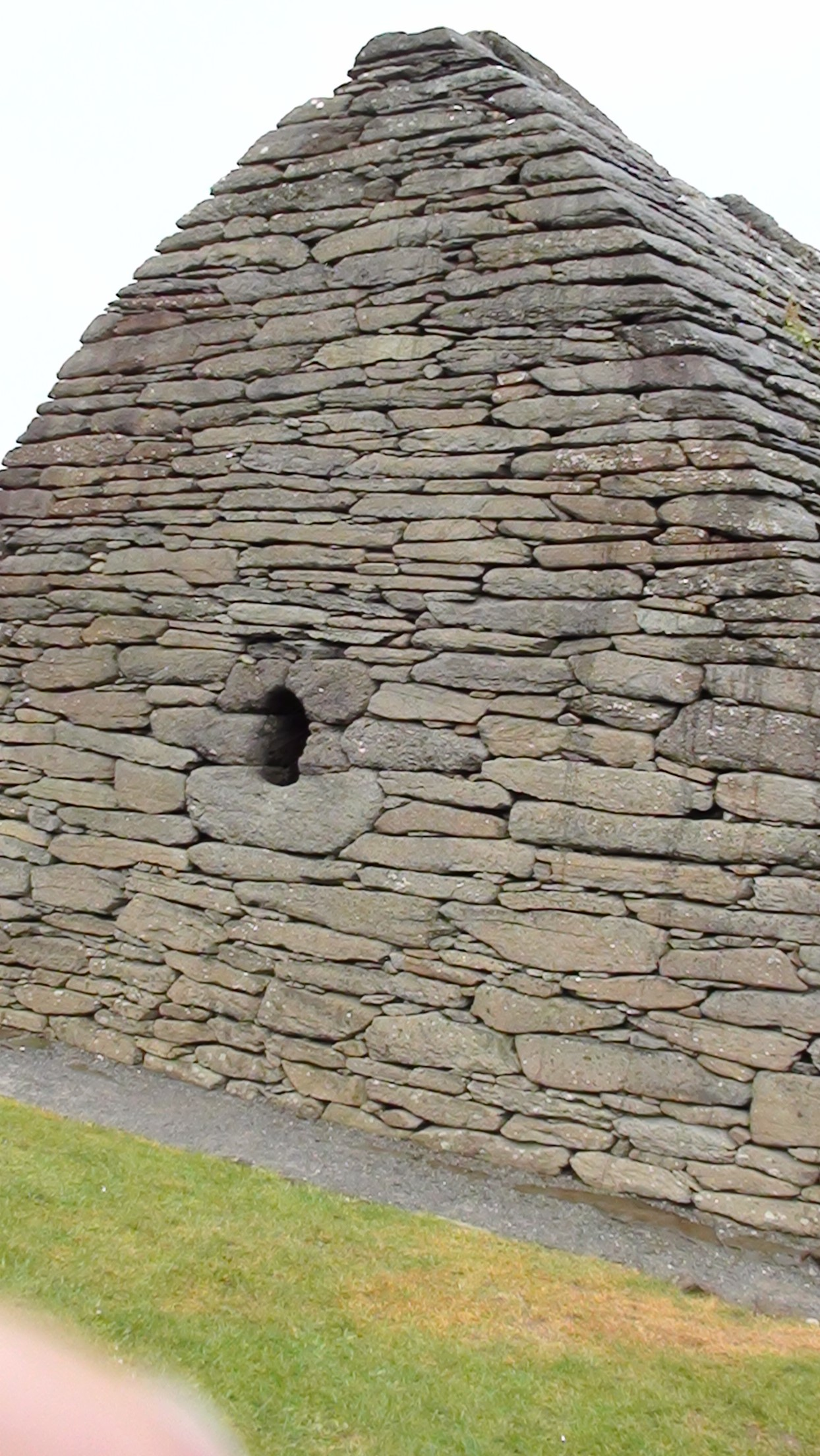 Galluras Oratory in the Dingle area
