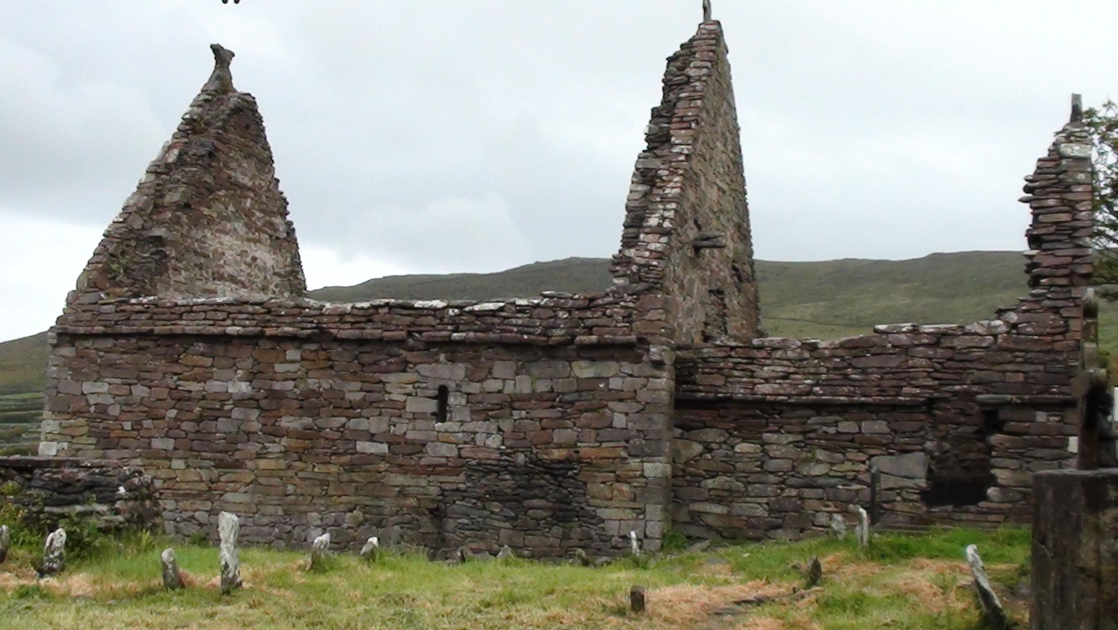 Kilmaldeker church near Dingle
