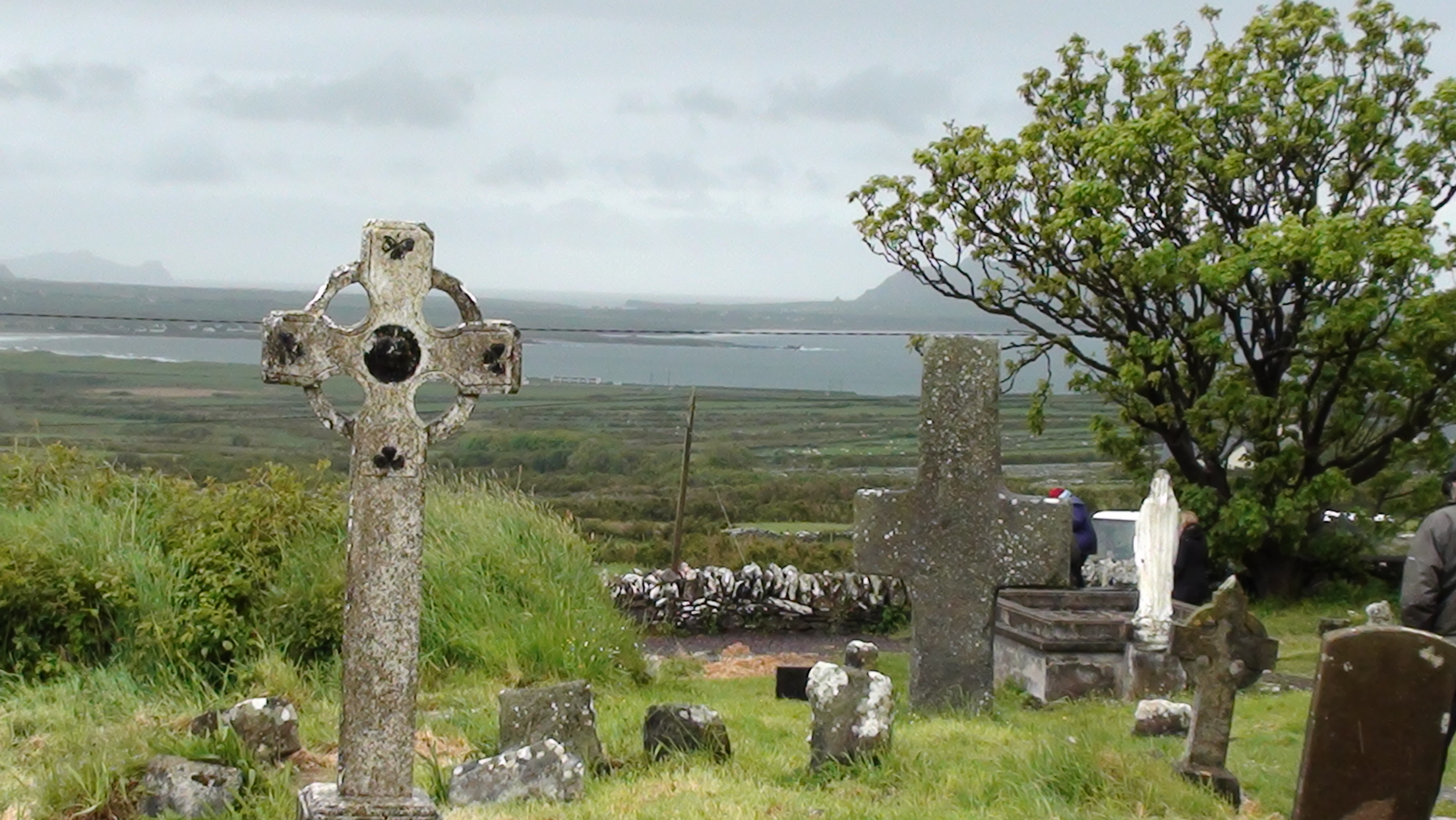 Kilmaldeker church near Dingle