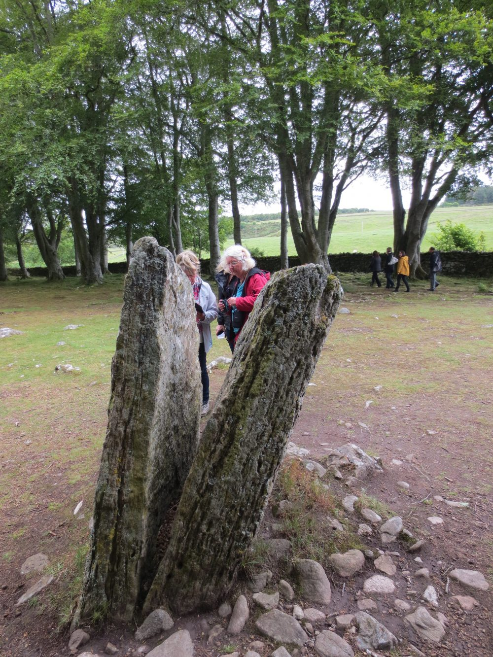 Clava Cairns near Inverness.