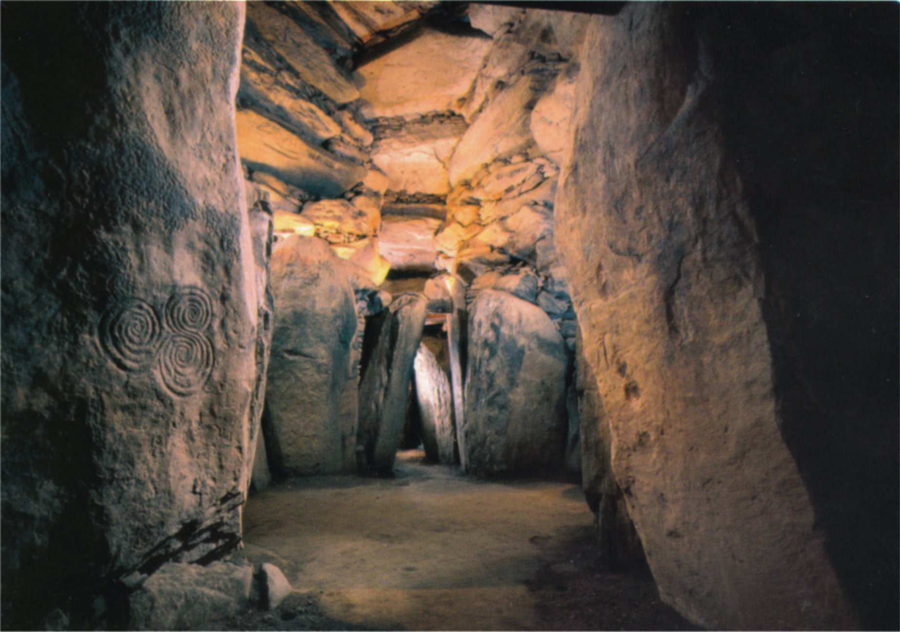 Interior of New Grange