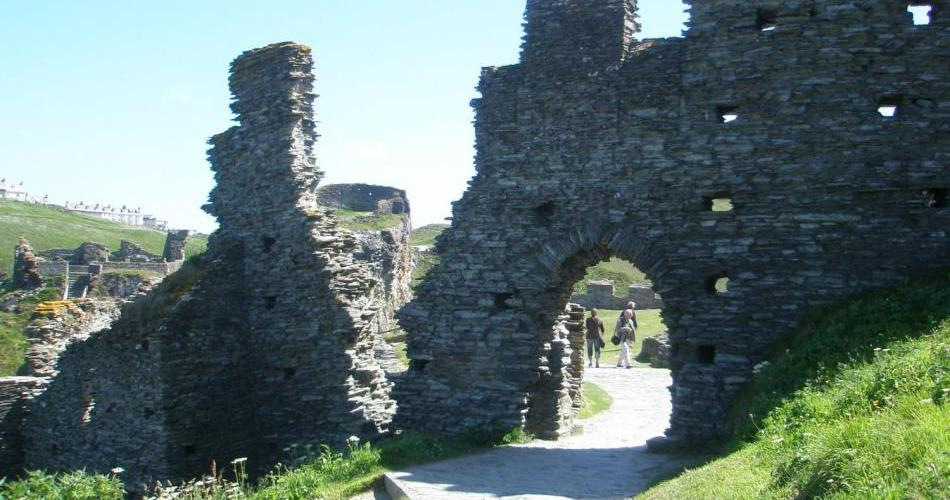 Merlin's Britain tour takes you t Tintagel Castle in Cornwall