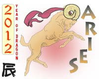 2012 horoscope aries