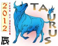 2012 horoscope taurus