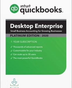 QuickBooks Enterprise Platinum 2020