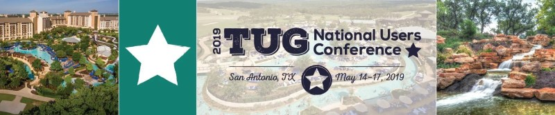 2019 TUG National Users Conference