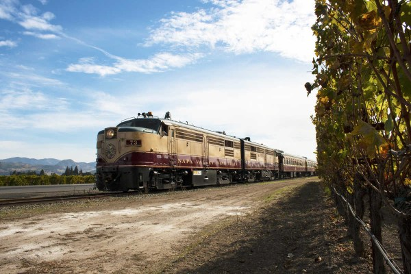 Napa Valley Wine Train Fall Foliage