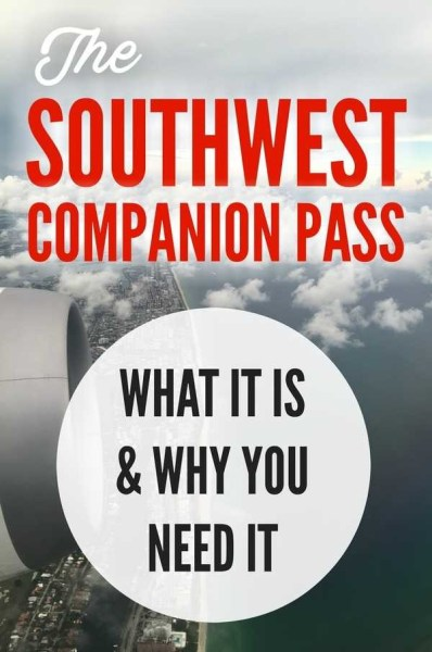 What is the Southwest Companion Pass? via @GotoTravelGal