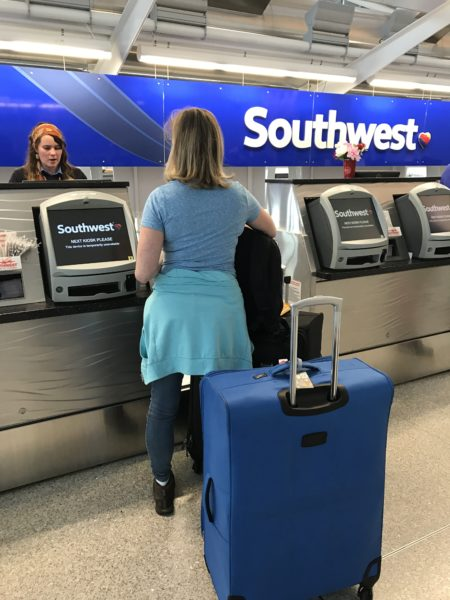 Southwest Airport Check in