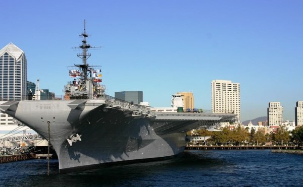 Downtown USS Midway - San Diego