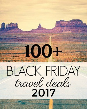 Black Friday Travel Deals 2017