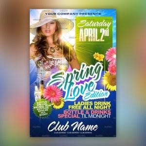 Spring Love Flyer