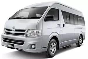 Sewa Rental Toyota Hiace bali