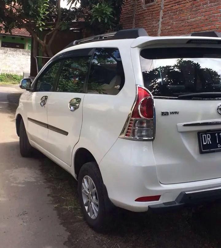 Rental avanza di lombok
