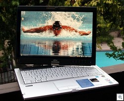 Fujitsu T5010 Tablet PC Michael Phelps JPG