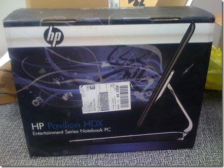 HP Pavilion HDX Dragon