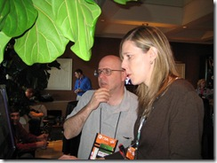 CES 2009 Tablet and Touch Community Meetup 007