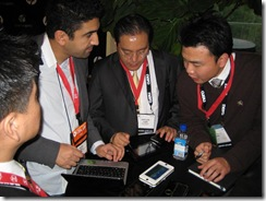 CES 2009 Tablet and Touch Community Meetup 046