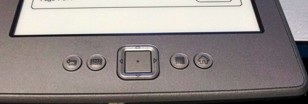 Kindle buttons