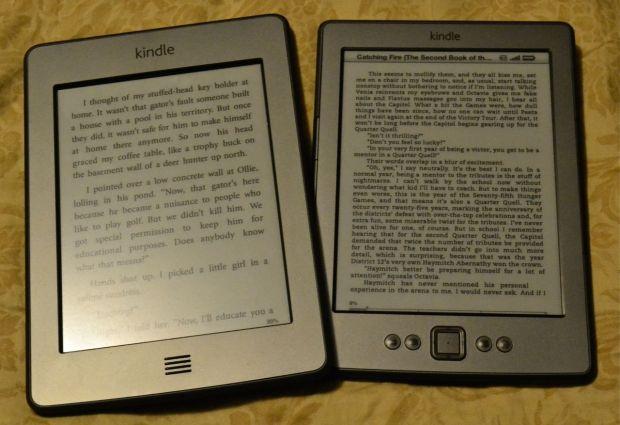 Amazon Kindle Touch and Kindle 4