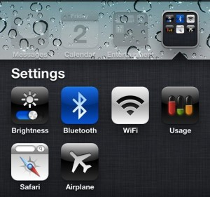 Settings Shortcuts on iPhone 4S no Jailbreak needed