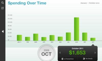 Mint iPad app