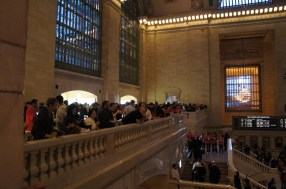 Grand Central Apple Store - View from the balcony