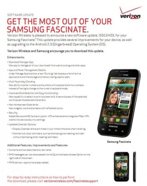 Samsung Fascinate