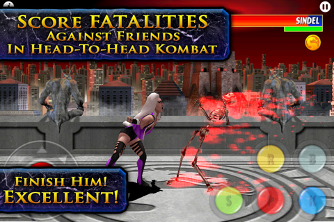 Ultimate Mortal Combat 3 iPhone app